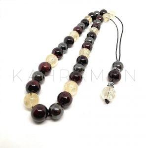Κομπολόι mix gemstones AC0176