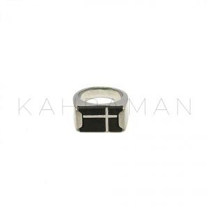 Ανδρικό δαχτυλίδι από ατσάλι BA0031