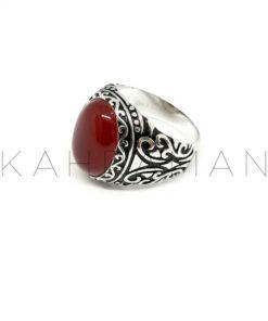 Ανδρικό δαχτυλίδι από ασήμι BA0106