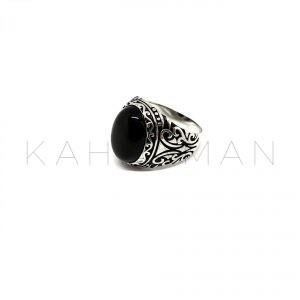 Ανδρικό δαχτυλίδι από ασήμι BA0107