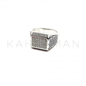 Ανδρικό δαχτυλίδι από ασήμι 925 BA0108