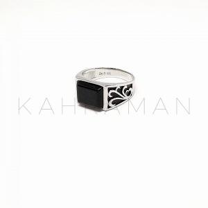 Ανδρικό δαχτυλίδι από ασήμι BA0109
