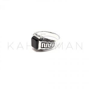 Ανδρικό δαχτυλίδι από ασήμι BA0110
