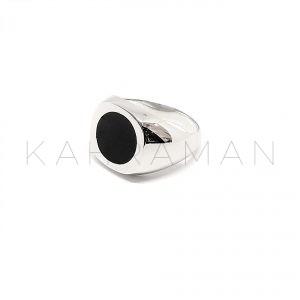 Ανδρικό δαχτυλίδι από ασήμι BA0123