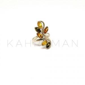 Κεχριμπαρένιο δαχτυλίδι BΑ0124