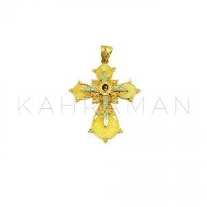 Χρυσός σταυρός BE0060