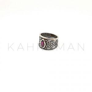 Χειροποίητο δαχτυλίδι από ασήμι BA0143