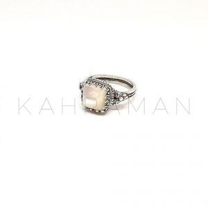 Χειροποίητο ασημένιο δαχτυλίδι BA0144