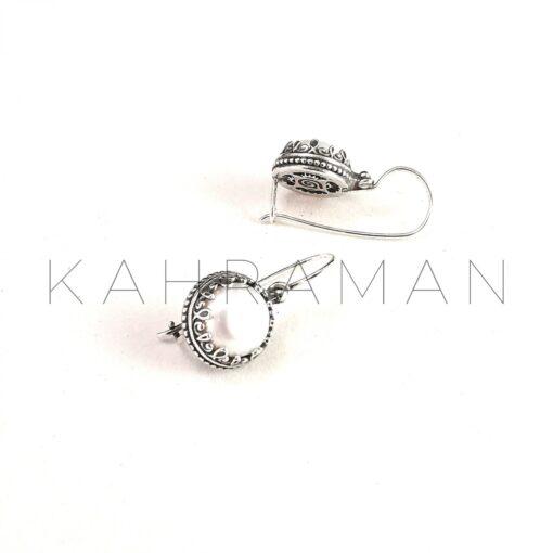Χειροποίητα σκουλαρίκια από ασήμι BD0079