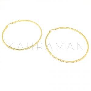 Ασημένια σκουλαρίκια κρίκοι BD0080