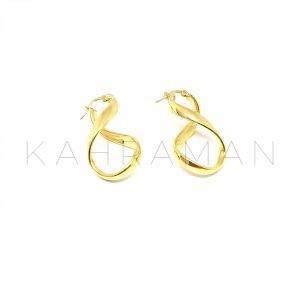 Ασημένια σκουλαρίκια κρίκοι BD0081
