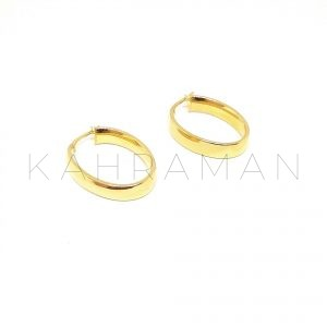 Ασημένια σκουλαρίκια κρίκοι BD0082