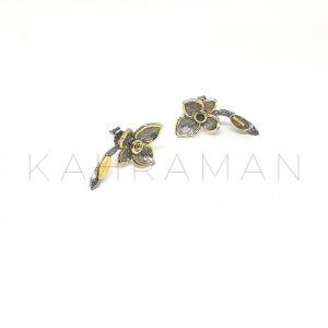 """Ασημένια σκουλαρίκια """"Penelope"""" BD0083"""