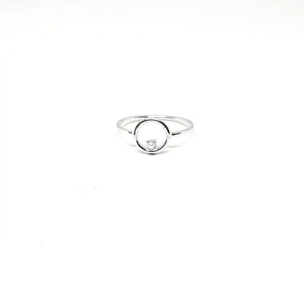 Ασημένιο δαχτυλίδι BA0152