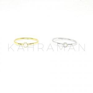 Δαχτυλίδι από ασήμι 925 με πέρλα BA0153
