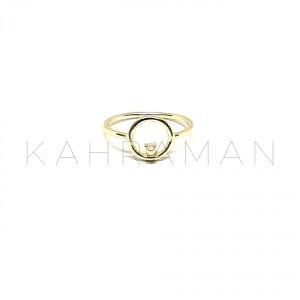 Ασημένιο δαχτυλίδι με μαργαριτάρι BA0154